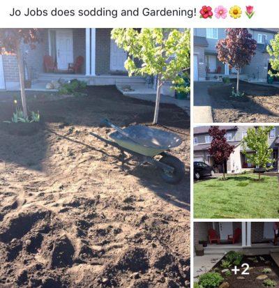 JO JOBS Ottawa - GARDENING