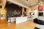 inside out studio Barre reception area
