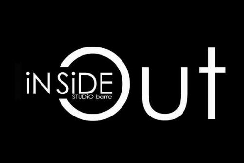 Logo-inside out studio Barre