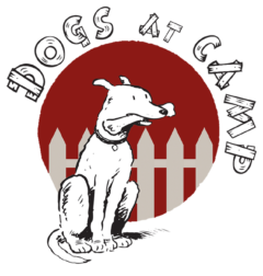 Dogs at camp logo in SheShops Local directory